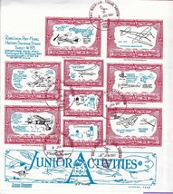 DOCS LOCAL POST SOUVENIR SHEET MODEL AIR FLYING CLUB BULL MOUNTAIN OR 1/... - $9.39