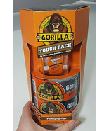 Gorilla Tough Pack 1 Packing Tape, 1 Silver Tape And 1 Black Tape - $21.95