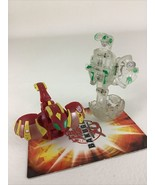 Bakugan Pyrus Red Altair Clear Mega Brontes Game Toy B2 Spin Master - $21.73