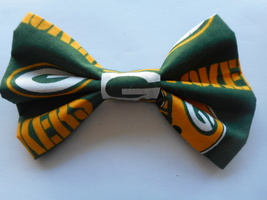 Green Bay Packers Big Bow Girls Barrette - $8.00