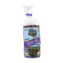 Lundberg Gluten-Free Brown Rice Organic Rice Cakes -- 8.5 oz - $12.80
