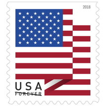 10 USA Forever Flag Stamps NEW USPS Self-Stick Postage FREE S+H United S... - $6.35