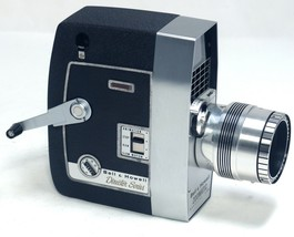 BELL HOWELL Zoomatic Director Magazine Vintage Movie 8mm Film Camera USA - $48.60