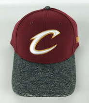 Cleveland Cavaliers Baseball Hat New Era 39Thirty Red Gray Visor Flex Fi... - $27.71