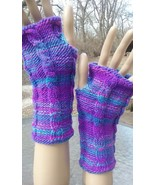 Unique Hand Multi-Color Knit Cabled Fingerless Gloves (Select Your Color) - $25.00