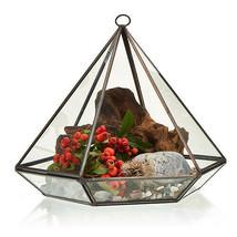 Glass Terrarium -Large Diamond - $34.97