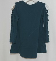 Simply Noelle Curtsy Couture Girls Cutout Long Sleeve Shirt Misty Blue 2T image 2