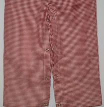 Ellie O Gingham Full Lined Longall Size 18 Months Color Red image 4