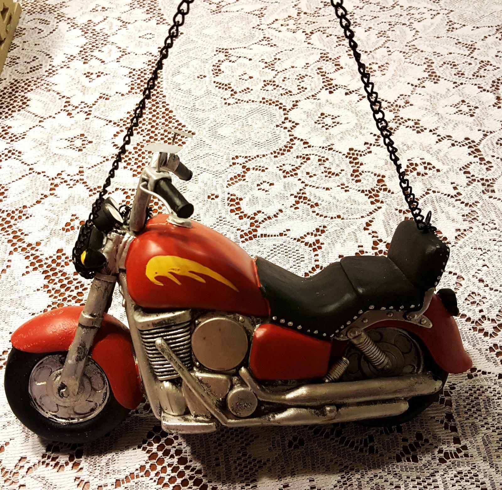 Harley Davidson Motorcycle Piggy Bank