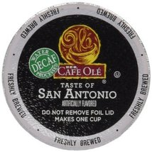 HEB Cafe Ole Coffee Single Serve Cup 12 ct Box (Pack of 4) (48 Cups) (Decaf - Sa - $54.42
