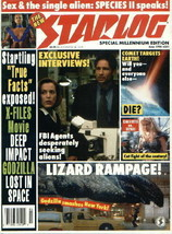 Starlog Magazine #251, 1998 X-Files/Godzilla/Species NM - $5.90
