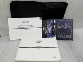 2007 Impala Owners Manual Set With Case 19300 - $17.81