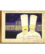Troisgros Restaurant Menu Roanne France Signed Pierre Troisgros 3 Michel... - $248.12