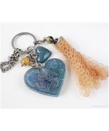 Jellyfish Handbag Accessory, Keychain, Handmade, Resin Accessories, OOAK - $23.00