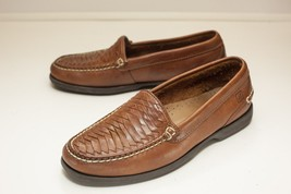 Sperry Top-Sider 7 M Brown Slip On Loafers Men's - $42.00