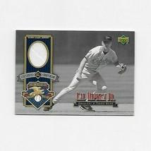 2001 UPPER DECK CENTENNIAL ANNIVERSARY CAL RIPKEN JR JERSEY CARD ALJ-CR ... - $6.93