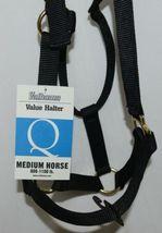 Valhoma 811QBK Black Medium Horse Halter Eight to Eleven Hundred Pounds image 3
