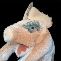 "Folkmanis Plush Grunting Pig Stuffed Animal Hand Puppet 14"" - $14.99"