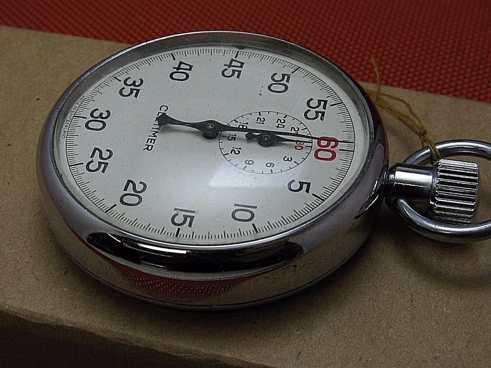 vintage hand held Stop watch Timer Count Cletimer in good working order.