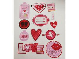Love and Valentine's Day Cardstock Ephemera, 58 Pieces image 3