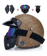 Open face 3/4 helmet personalized mens womens vintage retro - $64.99+