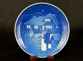 Country Christmas ~ Bing & Grondahl Collector Plate 1973, Jule-Aften, #P... - $6.81