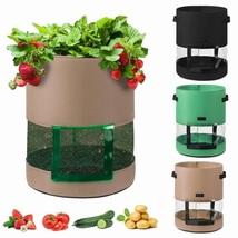 1Pc Potato Grow Bag 7/10 Gallon Outdoor Garden Greenhouse Vegetable Nurs... - £10.83 GBP+