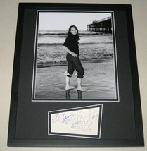 Susan Strasberg Signed Framed 11x14 Photo Display - $65.09
