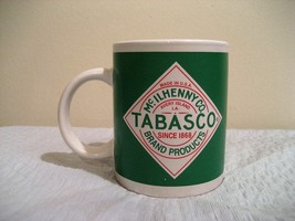 McILHENNY CO. TABASCO COFFEE CUP, IN GOOD CONDITION - $7.00