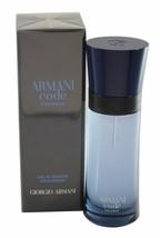 Armani CODE COLONIA - Men's Giorgio EDT 2.5 oz 75 ml Spray NEW - $66.98