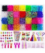 11680+ Rainbow Rubber Bands Mega Refill Bracelet Making Kit - Loom Bands... - $22.69