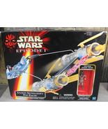 Hasbro Star Wars Episode 1 Anakin Skywalker Pod Racer With Anakin Action... - $28.00