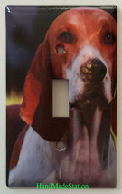 American Foxhound Dog Light Switch Outlet Cover Plate Home Decor