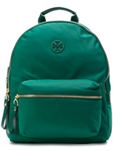 NWT Tory Burch Tilda Nylon Zip Backpack image 1