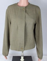 Armani Collezioni made in Italy women's vintage blazer button front size 6 - $49.78