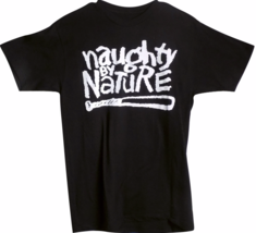 Naughty by Nature Black Music T-Shirt - $15.88