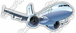 Plane Airplane Jet Aircraft Pilot Car Bumper Window Vinyl Sticker Decal ... - $3.50