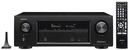 Denon 300W 7.2 Channel Full 4K Ultra HD AV Receiver with Bluetooth