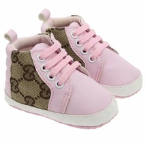Pink Color Girls Leather Baby Walking Shoes Soft Bottom Toddler Shoes 0-... - $16.99