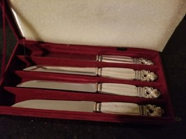 Silver Treasures Knife Set of 4 By Godinger Christmas gift - $19.31