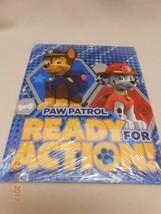 New lot 2 kids paw patrol school notebook pocket folders home school las... - $6.44