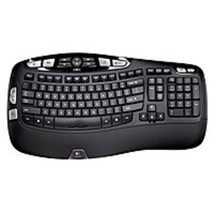 Logitech 920-001996 K350 Wireless USB Keyboard - 2.4 GHz - Black - €49,09 EUR