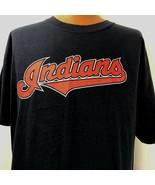 MLB Cleveland Indians Grady Sizemore 24 Majestic XL T Shirt Baseball Blue - $24.74