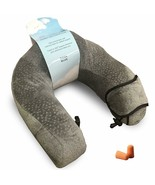 Travel Neck Pillow Plus For Neck Support, Soft Memory Foam Neck Cushion ... - $16.78