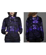 Black Panther Purple Neon Hoodie Fullprint Women - $43.99+
