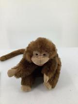 "Folkmanis Hand Puppet Plush Monkey Long Tail  11""Tall 1 Full Body 137 - $9.49"