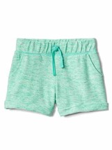 Gap Kids Girls Shorts 4 5 6 7 14 16 Green French Terry Roll Tie Textured New - $17.95