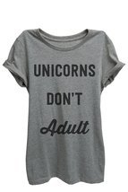 Thread Tank Unicorns Don't Adult Womens Relaxed... - $25.99