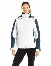 Medium 8-10 Arctix Women's Petite Muse Interchange 3-in-1 System Jacket White