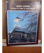 Great Hymns Arranged for Organ by James Bastien Level 1 (1979, PB) - $8.99
